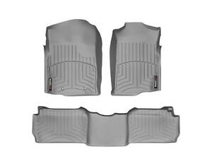 Weathertech Floorliner Mats For Chevy gmc Suburban 92 99 1st 2nd Row Grey