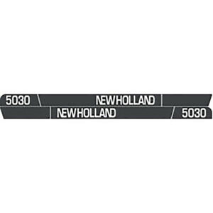 High Quality 5030 New Holland Tractor Hood Decal Kit Vinyl