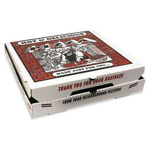 Pizza Box White Takeout Containers box Of 50