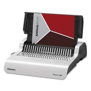 Fellowes Pulsar Electric Comb Binding System 300 Sheets 17 X 15 3 8 X 5 1 8