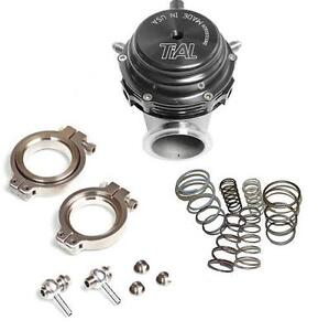 Tial Mvr 44mm Wastegate Mv r V band Flanges All Springs Included black