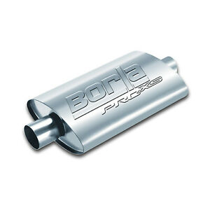 Borla 40364 Universal Proxs Muffler 2 5 Center center 19 Stainless Steel Oval