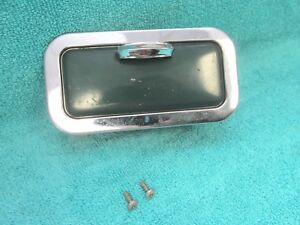 Vintage Dodge Chrysler Plymouth Rear Of Seat Green Ashtray Receptacle 218