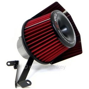 Apexi Power Intake Dual Funnel Air Filter Fits Mazda 94 97 Miata Na8c Bp ze