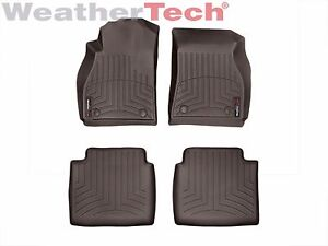 Weathertech Floor Mats Floorliner For Buick Lacrosse 14 16 1st 2nd Row Cocoa