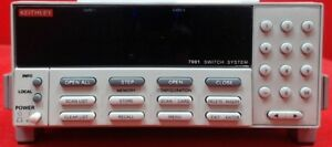 Keithley 7001 80 channel Switch System Mainframe