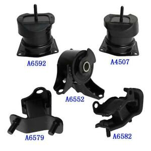 Engine Motor Trans Mount 5pcs For 1998 1999 2000 2001 2002 Honda Accord 3 0l