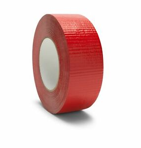 192 Rolls 2 X 60 Yards Red Duct Tape 9 Mil Box Shipping Tapes Shield Brand
