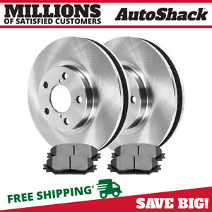 Front Rotors And Ceramic Pads For 2009 2013 Toyota Matrix Corolla 2009 2010 Vibe