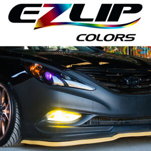 The Original Ez Lip Colors Yellow Universal Body Kit Air Spoiler Ezlip Easy