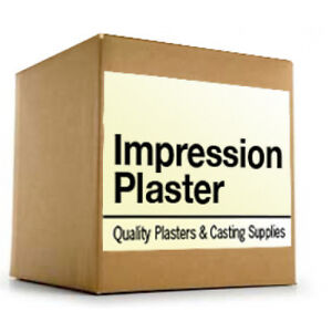 Impression Plaster Type Ii Fast Set 28 Lb For 39 90 Free Fast Shipping