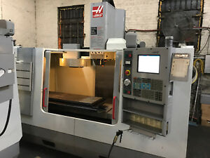 Haas Vf 3 2004 Cnc Vertical Mill Mint Condition Under Power In Nyc