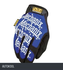 Mechanix Glove Blue large