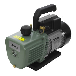 Javac 5 Cfm 2 Two Stage Air Conditioning A c Refrigeration Vacuum Vac Pump Cc141