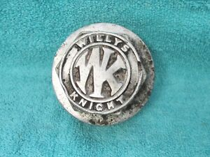 Vintage 1920 S Willys Knight Wheel Grease Threaded Hub Cap 218