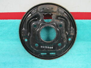 1961 63 Plymouth Valiant Front Wheel Brake Mount Backing Plate Nos Mopar 218