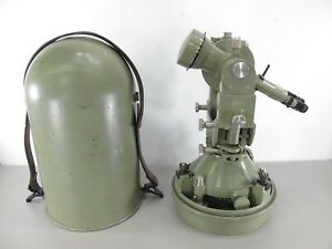 Wild Heerbrugg Leica T3 Swiss Made Precision Surveying Theodolite Transit W case