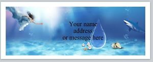 Personalized Address Labels Mermaid Under The Sea Buy 3 Get 1 Free bo 854