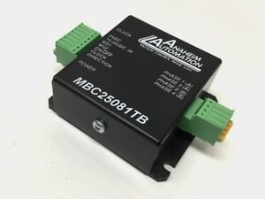 Anaheim Automation Mbc25081tb Micro Stepper Motor Driver Controller 12 24vdc