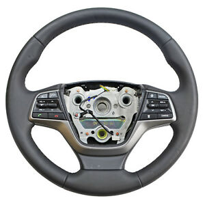 Steering Wheel Assembly W Buttons For 2016 2017 2018 Hyundai Elantra 48r