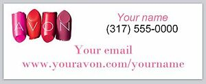 Personalized Address Labels Avon Independent Consultant Buy 3 Get1 Free ac 950