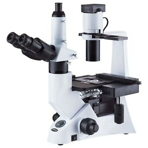 40 400x Inverted Infinity Phase contrast 30w Biological Microscope