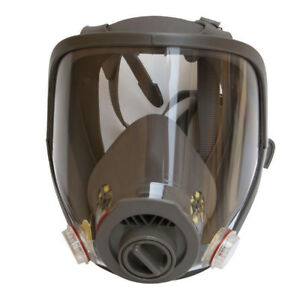 Full Face Gas Mask Facepiece Dust Painting Spraying Safety Mask Suit For 6800