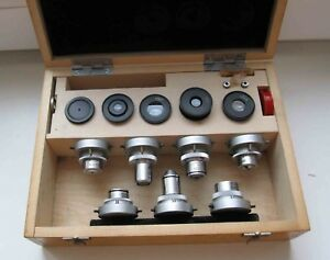 Lomo Polar Microscope Polarising 7 Objectives Eyepiece Set 190 Mm Tube Zeiss