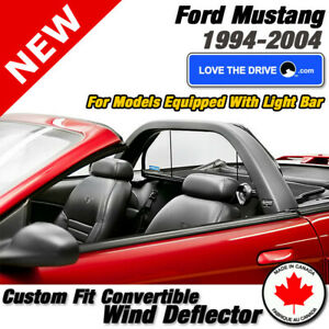 Love The Drive Wind Deflector For Ford Mustang 1994 2004 With Factory Light Bar