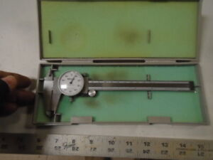 Machinist South Bend Atlas Lathe Tool Mill Mitutoyo 6 Dial Caliper Gage n