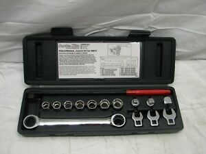 Matco Tools Msbt15 Serpentine Belt Tool Kit Gearwrench Crow Foot Wrench W Case