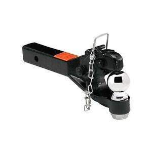 Draw Tite 63042 Pintle Hook Trailer Hitch Receiver Mount With 2 5 16 Ball Black