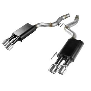 Flowmaster 817807 American Thunder Axle back Exhaust System For Mustang Gt 5 0l
