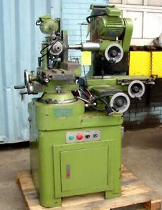 Denver Astro Tool Cutter Grinder Copy Of A Monoset With Tooling