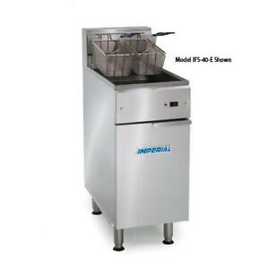 Imperial Ifs 50 e 50 Lb Immersed Electric Fryer