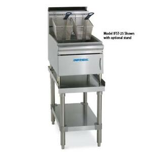 Imperial Ifst 25 25 Lb Countertop Gas Fryer