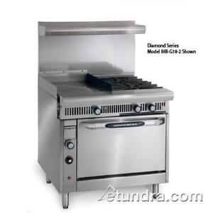 Imperial Ihr g24 2 c Diamond Range W 2 Burners Griddle Convection Oven