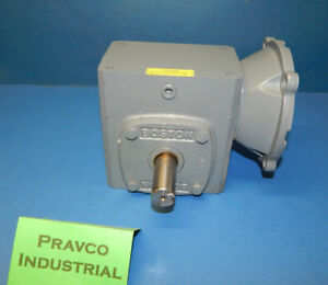 Boston Gear F7215b7h Gearbox Input Hp 3 35 3 7 20hp