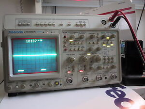 Calibrated Tektronix 2465bdm Oscilloscope Freq Coun Dmm 1year Guarant bin