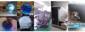 360 Degree Led Video Display Screen Circular Sphere Ball