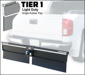 Towtector 27819 t1 78 Wide 18 Tall Rubber Mud Flap For 2 5 Receiver