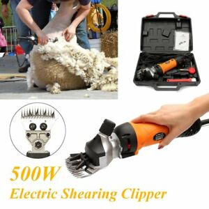 500w Electric Sheep Goat Shears Clippers Animal Shave Grooming Farm Livestock