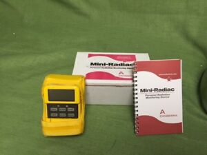 Canberra Personal Radiation Detector Mini radiac With Alarms Mrad 113