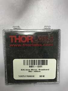 Thorlabs Bb1 e01 1 Broadband Dielectric Mirror 350 400
