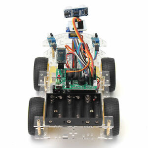 4wd For Arduino Wheels W remote Starter Programmable Auto Control Car Kit Robot