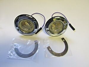 Mopar 69 Road Runner Gtx Satellite Reverse Back Up Light Assemblies 1969 Backup