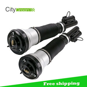 For 00 06 Mercedes S Class W220 S430 S500 S600 Front Air Suspension Struts Pair