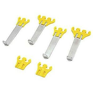 Spectre Spark Plug Wire Pro Wire Looms Dividers Separators Holders 7 8 5m Yellow