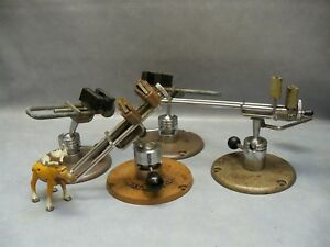 Bench Top Vise Clamp Kinatechnics Electronics Jeweler Hobby Mixed Lot Of 4