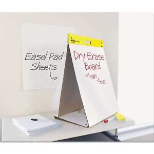Post it Easel Pads Dry Erase Tabletop Easel Unruled Pad 20 X 23 White 20 Sheets